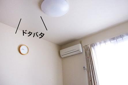 屋根裏でドタバタ音がする!害獣が動き回っていると、やはり音がします。 被害は騒音だけでなく、糞を盛られたり、柱をかじられたりと多岐にわたります。